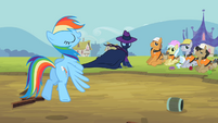 Rainbow Dash 'Or should I call you Mare Do Slow' S2E08