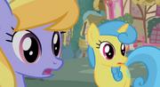 Shocked Cloud Kicker and Lemon Hearts S2E8