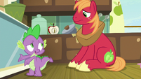 Spike -this is an emergency, right-- S8E10