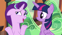 Starlight Glimmer shrugging S6E1