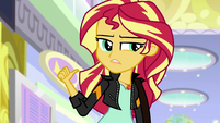 """Sunset Shimmer """"it does back in Equestria"""" EGS3"""
