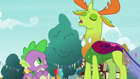 """Thorax """"my friend Ember is helping me"""" S7E15"""