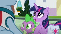 """Twilight """"somepony who used to live here"""" S9E5"""