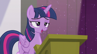 "Twilight ""the future of Equestrian magic"" S5E25"