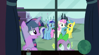 Twilight asks what happened to Moon Dancer S5E12