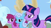 Twilight ignore Rainbow Dash S1E13