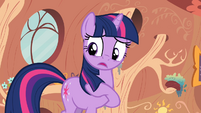 Twilight with hoof in her mane S2E20
