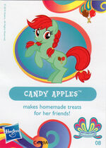 Wave 11 Candy Apples collector card