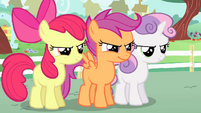 Cutie Mark Crusaders feeling confident S4E05