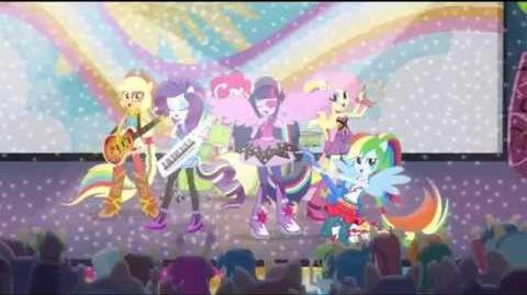 Dutch Equestria Girls Rainbow Rocks Animated Shorts Shake Your Tail!