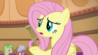 Fluttershy --do you think he knows--- S6E20