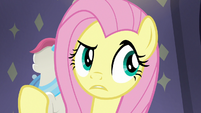 Fluttershy confused by Pursey Pink's order S8E4