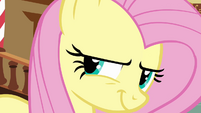 Fluttershy evil smile S02E19