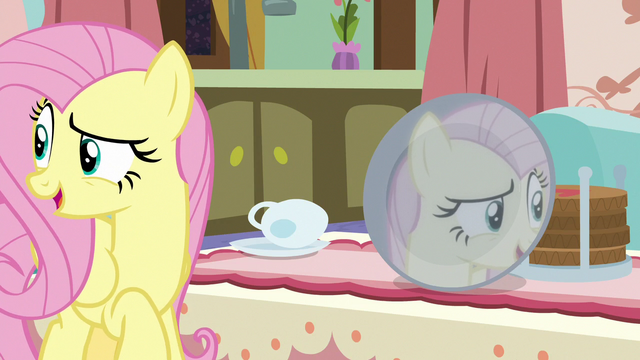 File:Fluttershy looking for more mirrors S7E12.png
