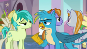 Gallus being sarcastic toward Sandbar S8E1