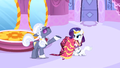 Hoity Toity congratulating Rarity S1E14.png