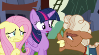 Ma Hooffield accuses Twilight and Fluttershy of being spies S5E23