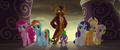 Main five and Spike looking back at Capper MLPTM.png