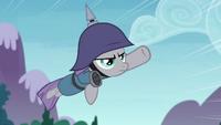 Maud Pie flying through the air S4E18