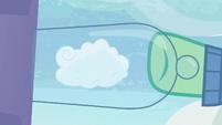 Mr. Shy catches a cloud in the casing S6E11