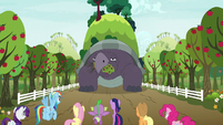 Mr. Tortoise-Snap appears eating trees S9E13