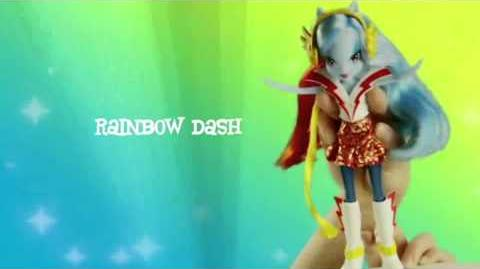 Muñecas My Little Pony Equestria Girls Rainbow Rocks - España - Segundo anuncio