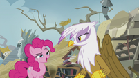 Pinkie -I saw that, Gilda!- S5E8