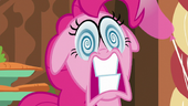 Pinkie Pie about to explode S5E19