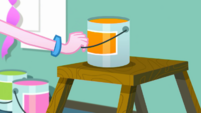 Pinkie Pie picks up another can of paint SS10