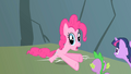 Pinkie Pie undergoing swift changes S1E15.png