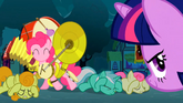 Pinkie Pie with instruments