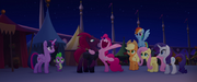 Pinkie shouting in complete happiness MLPTM