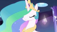 Princesa Celestia encorajando Twilight EG
