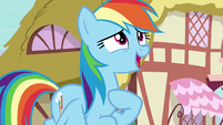 "Rainbow ""I'm definitely not worried"" S8E20"