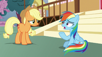 Rainbow Dash -don't blame yourself- S8E18
