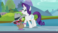 "Rarity ""I absolutely must have a model"" S8E11"