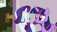 "Rarity ""going to start with a facial"" S7E2"