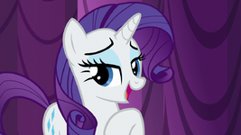 "Rarity ""to give it enough love"" S5E14"
