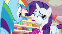 Rarity -they're practically already out- S8E17