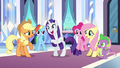 Rarity acting insane S3E1.png