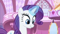Rarity excited finding newspaper S2E23