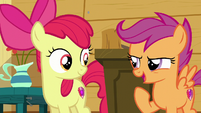 Scootaloo --we need to go try new stuff-- S6E4