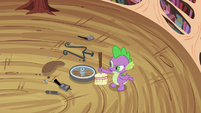 Spike sees the mess S4E15