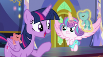 "Twilight Sparkle ""pretend we're the bears"" S7E3"
