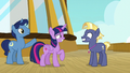 Twilight and Night Light welcoming Star Tracker S7E22.png