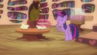 Twilight yawning S03E13