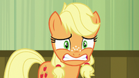 Young Applejack more nervous than ever S6E23