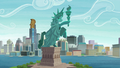 A statue inspired by the Statue of Liberty S6E3.png