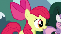 Apple Bloom --doing that is the same for griffons-- S6E19