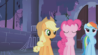 "Applejack ""Isn't this what you've been waiting for"" S1E02"